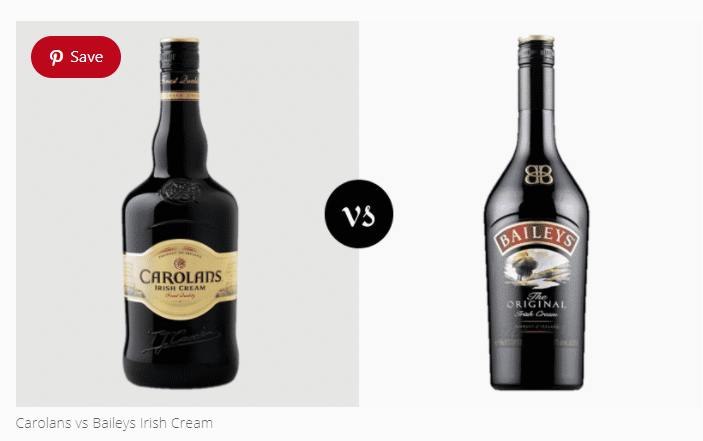 Carolans vs Baileys