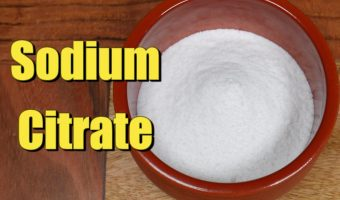 Sodium Citrate: What it is and how to make it